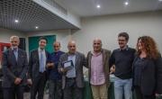 La Giuria di Fotografa la poesia con Viviana Nicodemo e il vincitore Di Giandomenico