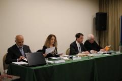 La Giuria del Premio Poesia Città di Fiumicino 2018 - Milo De Angelis, Fabrizio Fantoni, Luigia Sorrentino, Gianni Caruso