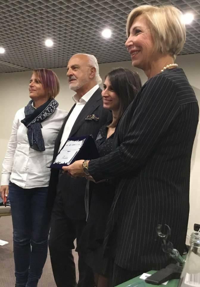 Califano, caruso e Anselmi premiano Eleonora Rimolo, finalista