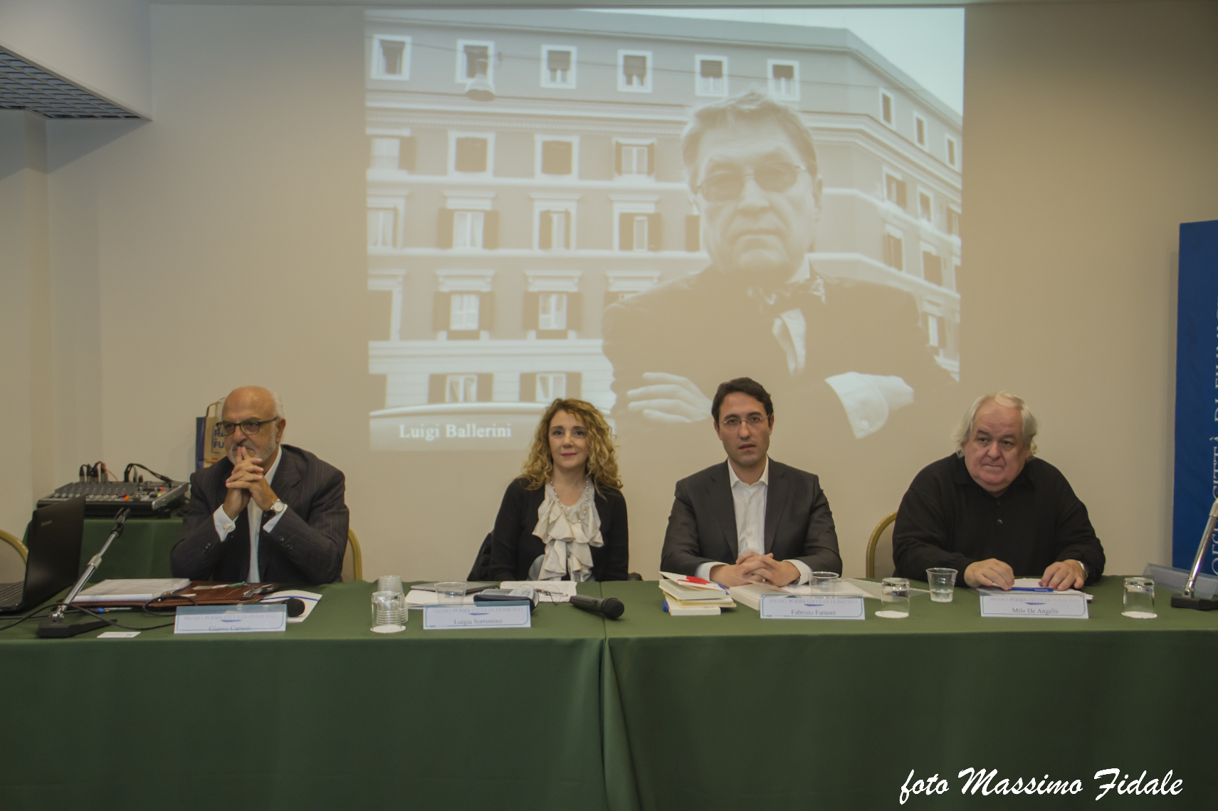 La Giuria tecnicaCaruso, De Angelis, Fantoni, Sorrentino