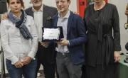 Anselmi, Califano e Caruso premiano Pellegatta, finalista