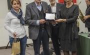 Anselmi, Califano e Caruso premiano il vincitore, A. Ceni
